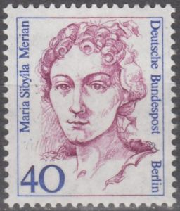 Maria's image graced a postage stamp in Germany
