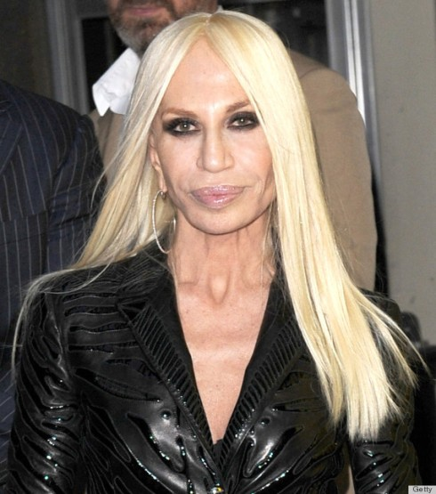 Donatella Versace makes charity fashionable