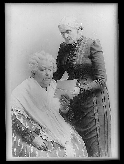 Elizabeth Cady Stanton and Lucretia Mott organized the Seneca Falls Convention in 1848.