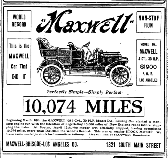 Here is an advertisment for the Maxwell 30.