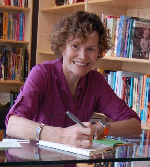 The beautiful and talented Judy Blume.