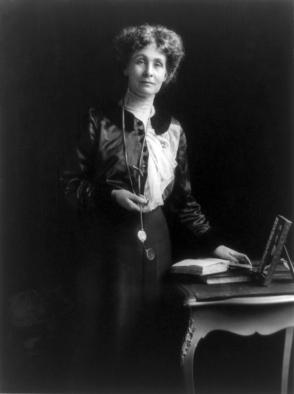 Emmeline Goulden Pankhurst