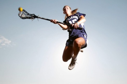 Playing lacrosse as a high school girl was just a dream before Title 9.