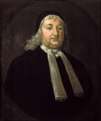 My great-great-great grandfather Judge Samuel Sewall.